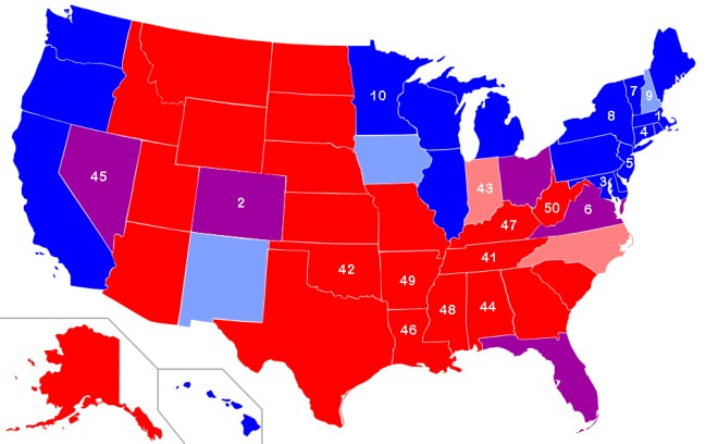 Smartest & Dumbest States - Which Are Red, Which Are Blue?