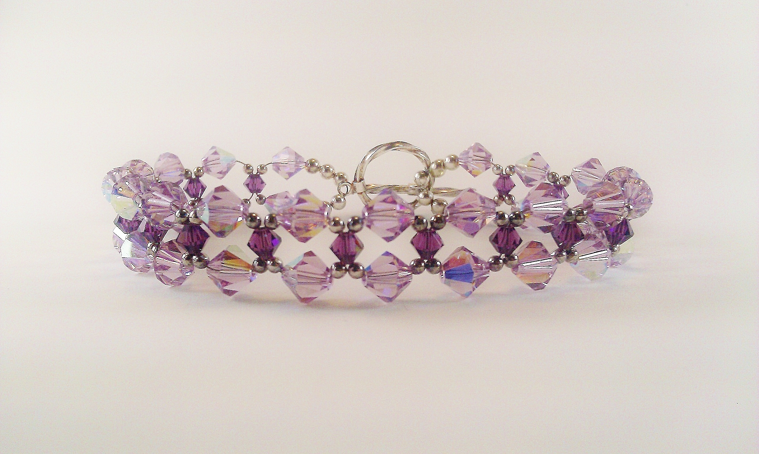 Bead Stitched Weaved Bracelets Thesilverfindings