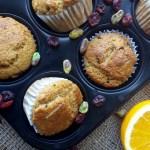 Muffins de Naranja y Cranberries 2