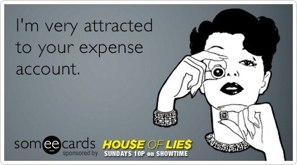 someecards.com - I'm very attracted to your expense account