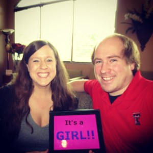 It's a Girl - Baby Announcement