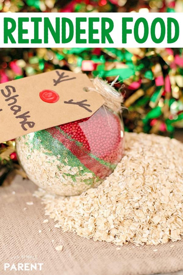 Magic Reindeer Food Recipe Makes a Fun Tradition \u2022 The Simple Parent