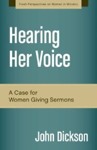 Hearing her voice