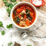 Sausage, Kale + White Bean Soup