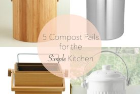 Five Things | Countertop Compost Bins