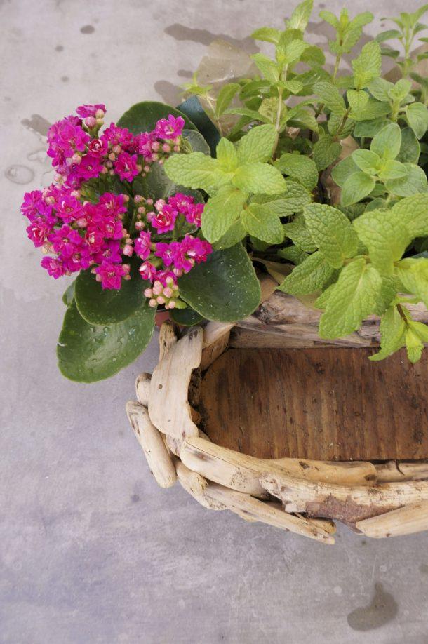 Simple Spring Centerpiece_2