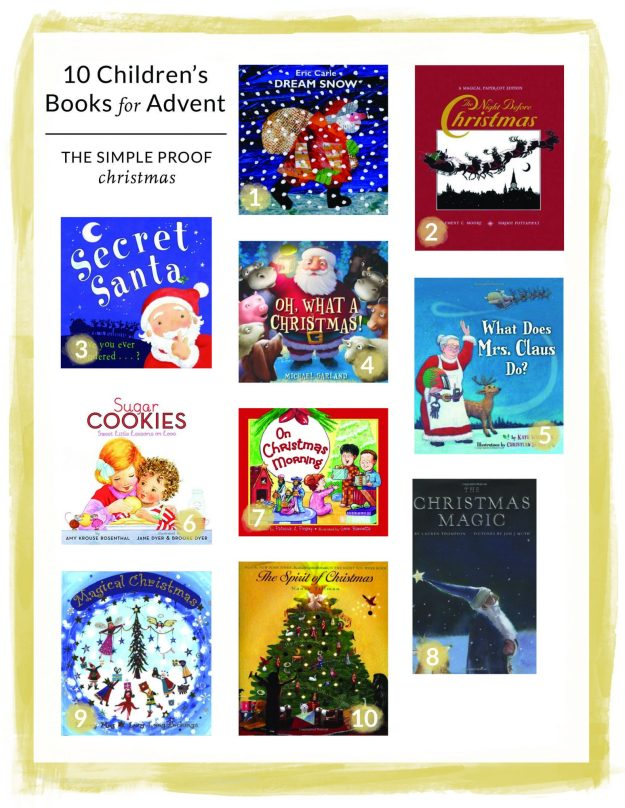 Advent | A Children's Book Each Night - The Simple Proof Christmas