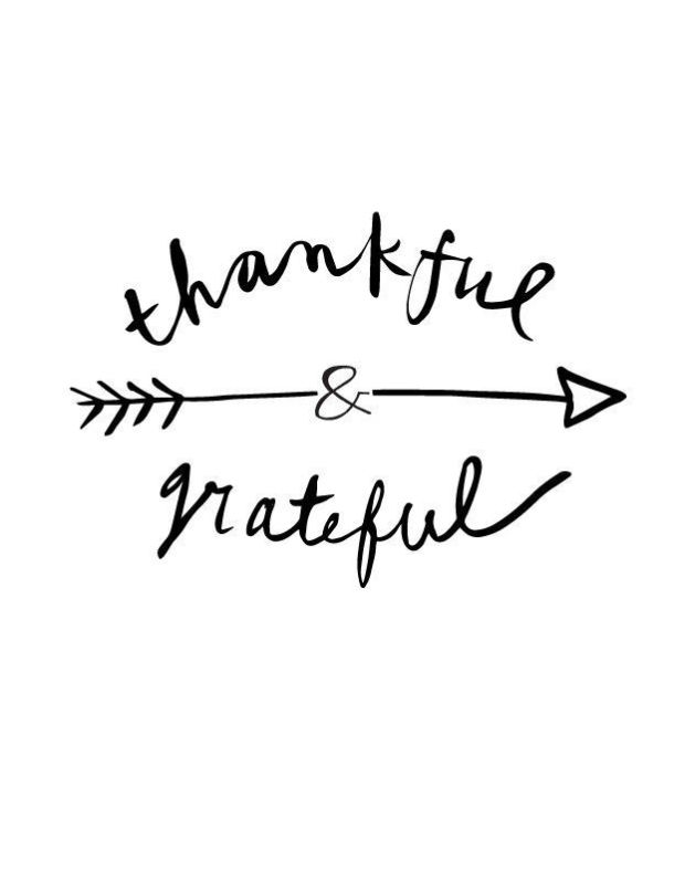 Thankful and Grateful | Happy Thanksgiving