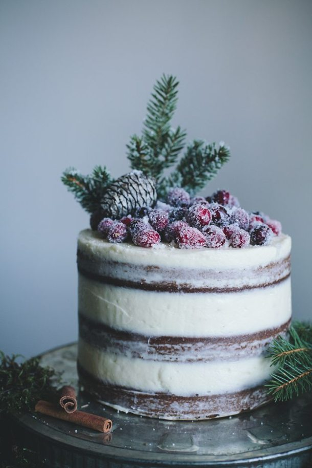 Naked Cakes |The Simple Proof Christmas