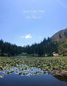 Quail Lake Hike | Lake Tahoe, California