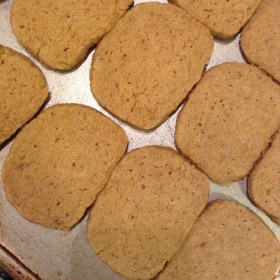Why you're supposed to place your cookies an inch apart on the baking sheet.