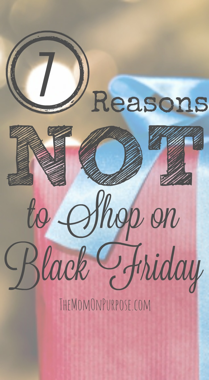 Www Black Friday 7 Reasons Why I Don T Shop On Black Friday The Simply Organized Home