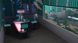 泡沫酒吧。