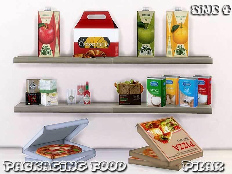 Pilar39s Packaging Food