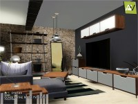ArtVitalex's Ocarx Living Room TV Units