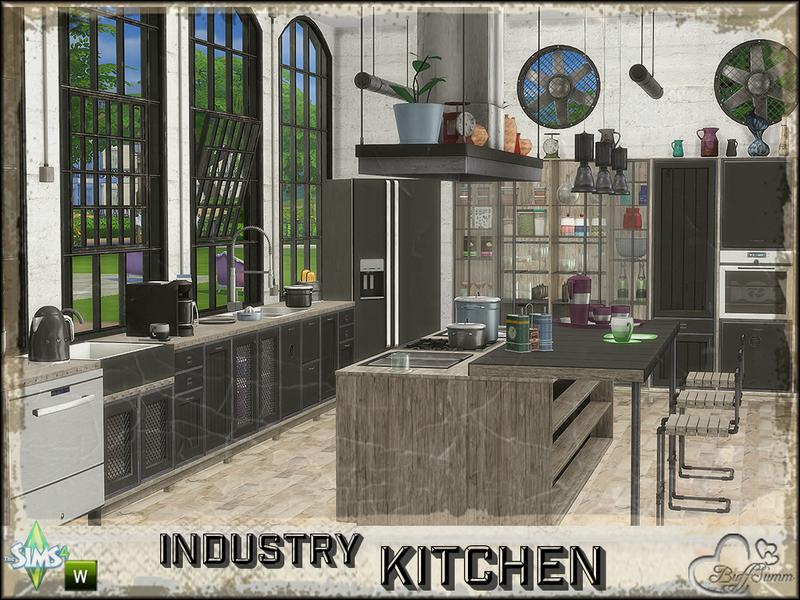 BuffSumm's Industry Kitchen