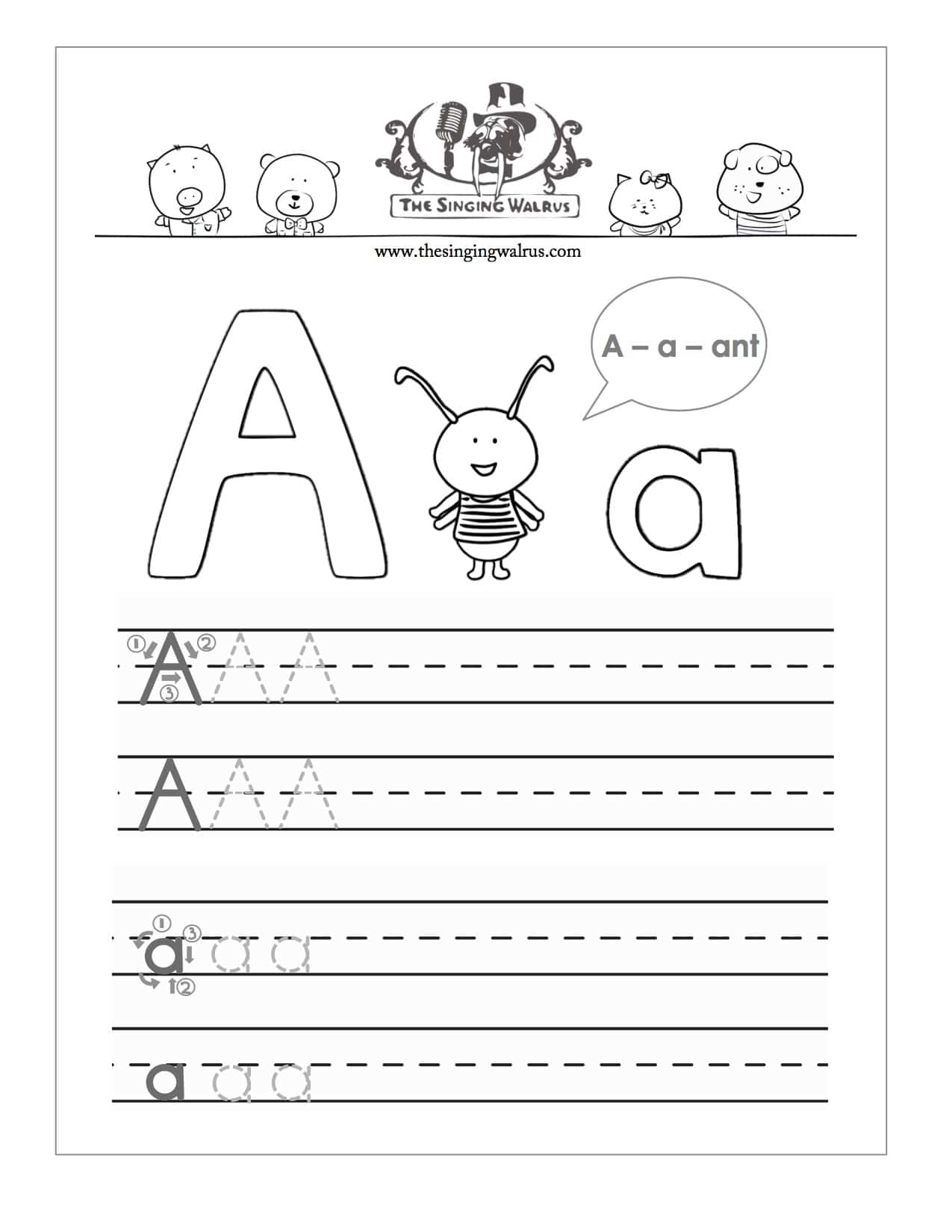 Traceable Worksheets Maker : Kindergarten handwriting worksheet maker letter b