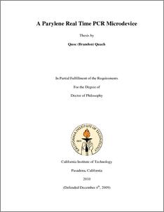 Phd thesis design