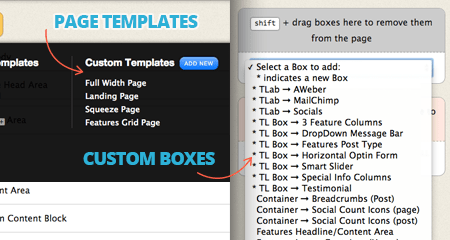 Flatisfy Templates and Boxes