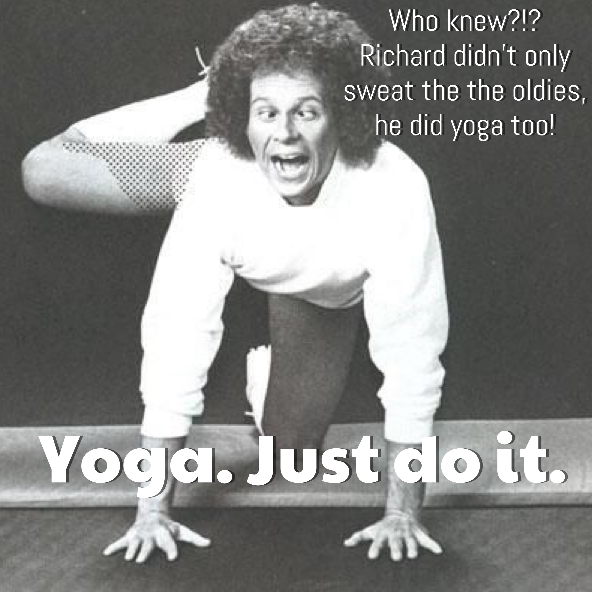 Richard Simmons_Yoga