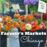 Chicago Farmer's Markets