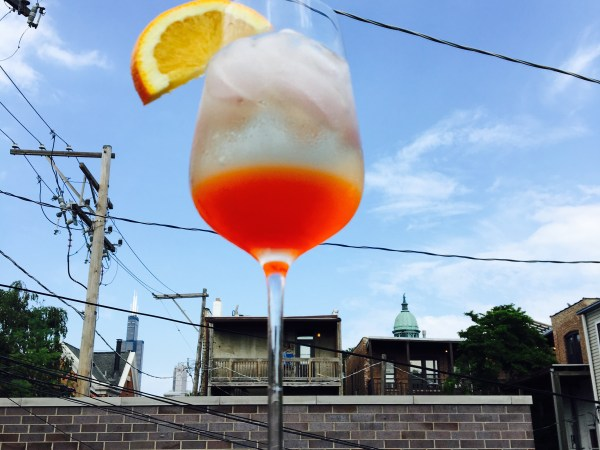 Behold. The Aperol Spritz!