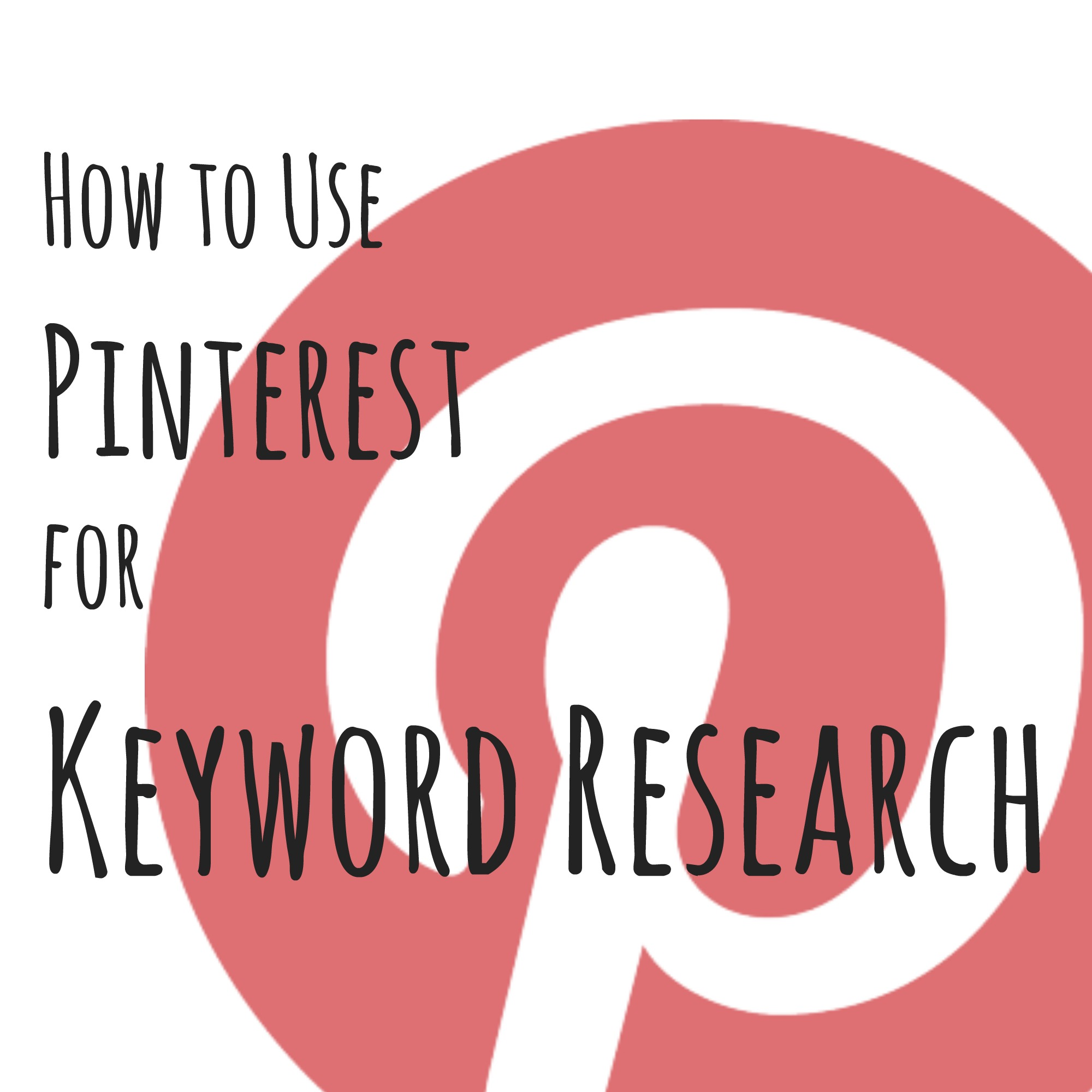 Keyword How To Use Pinterest For Keyword Research The Sits Girls