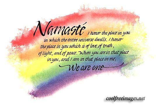 Namaste': Giving Starts with Learning to Receive