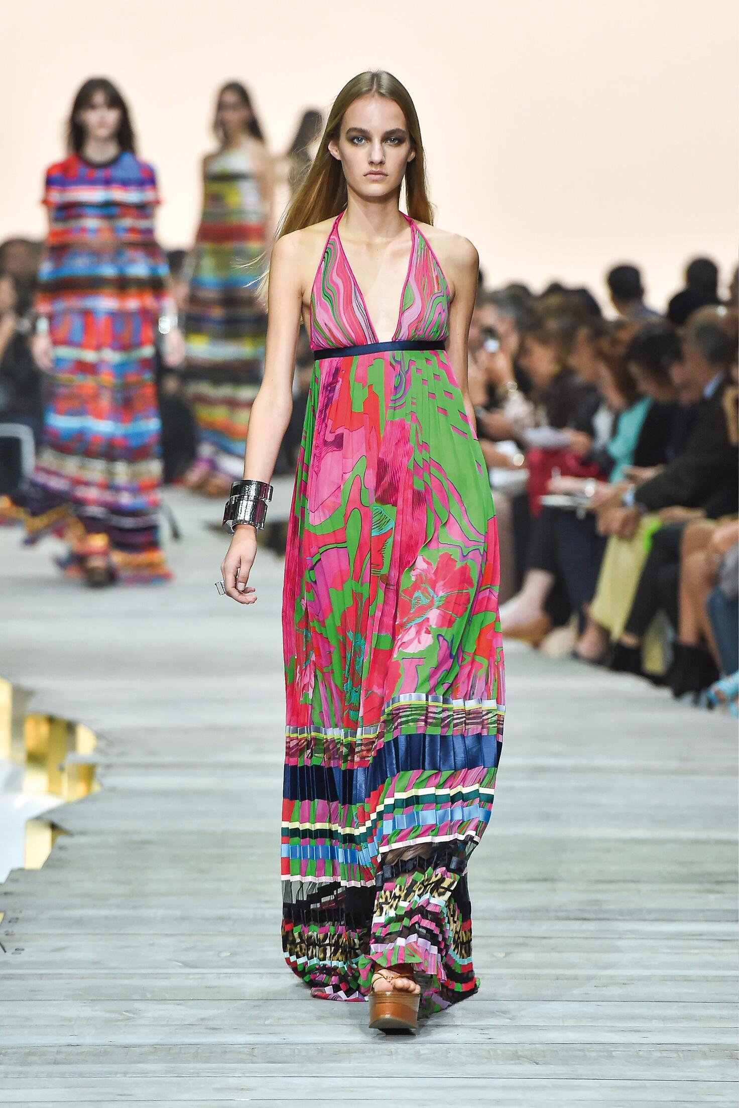 Trend Wandfarben 2015 Roberto Cavalli Spring Summer 2015 Women's Collection