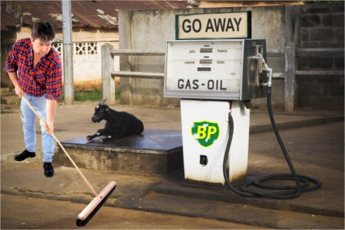 Spilled Oil Was Destined for Gas Station in Iowa