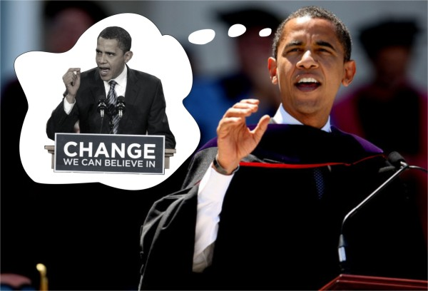 Obama Urges Citizens to Hearken Back to the Obama of 2008