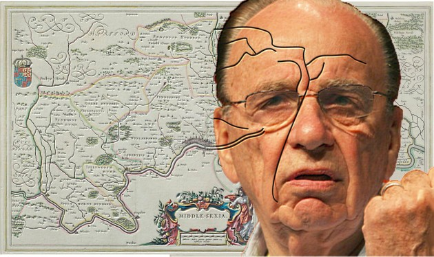 Furrows in Rupert Murdoch's Brow Reveal Missing Elements of Ancient Map