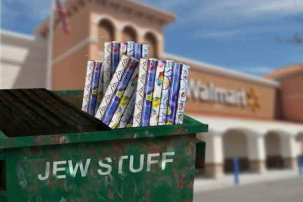 Local Walmart Apologizes for Accidentally Carrying Hanukkah Wrapping Paper