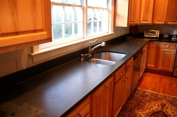 Slate Countertops Design Ideas For Generate More Valuable
