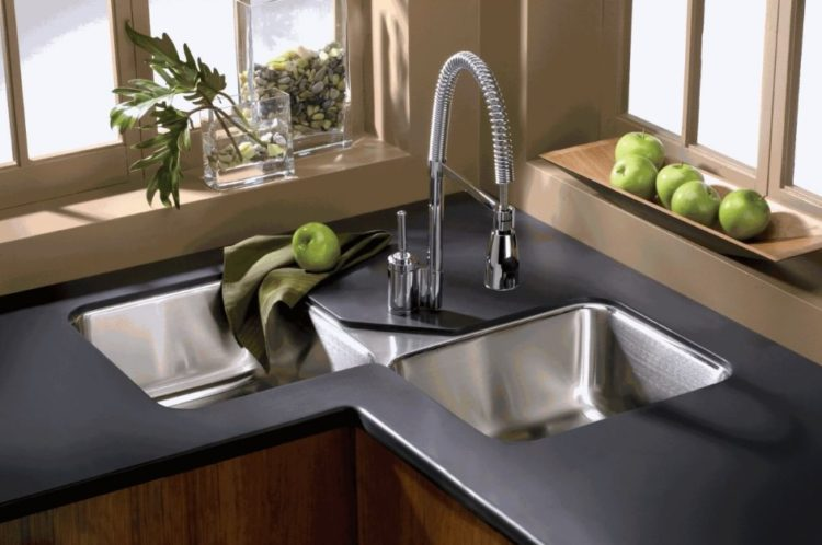 Lavabo Cucina Angolare Corner Kitchen Sink Ideas For Best Cooking Experience