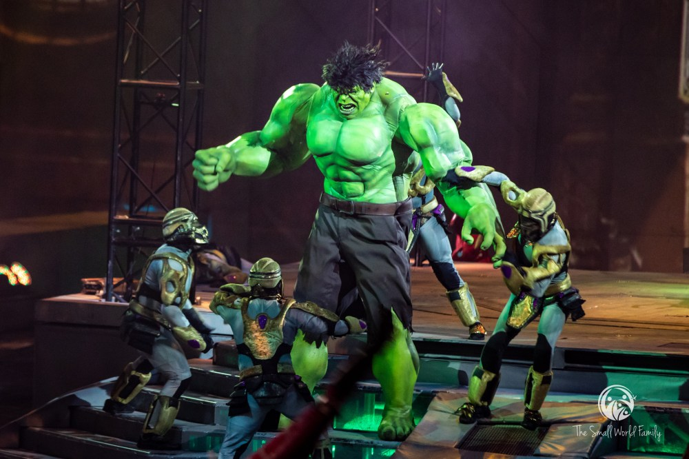 Marvel Universe Live Age Of Heroes Review The Small