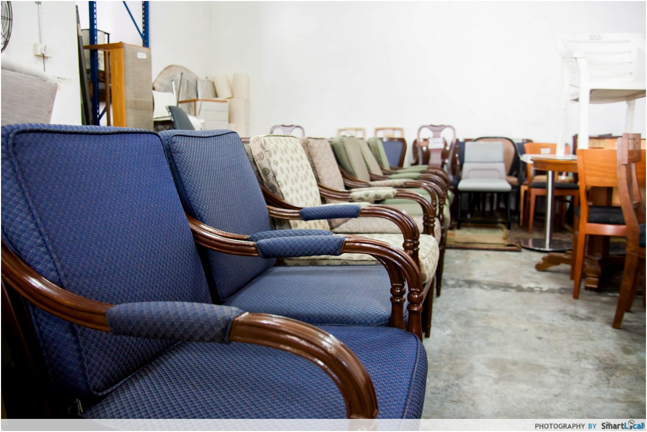 12 Undiscovered Second Hand Furniture Shops In Singapore