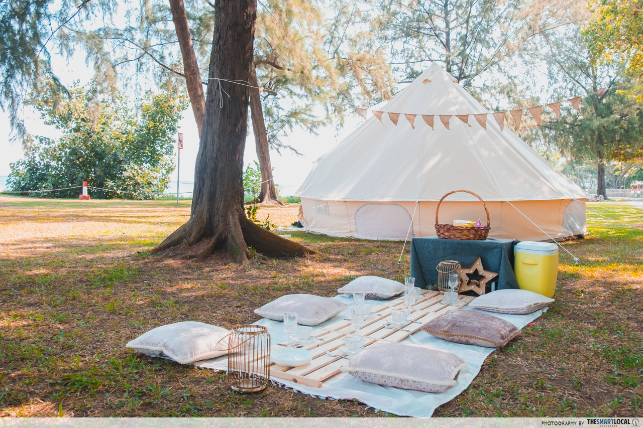 Outdoor Shower Tumblr Guide To Glamping At East Coast Park Tumblr Worthy Setup You Don