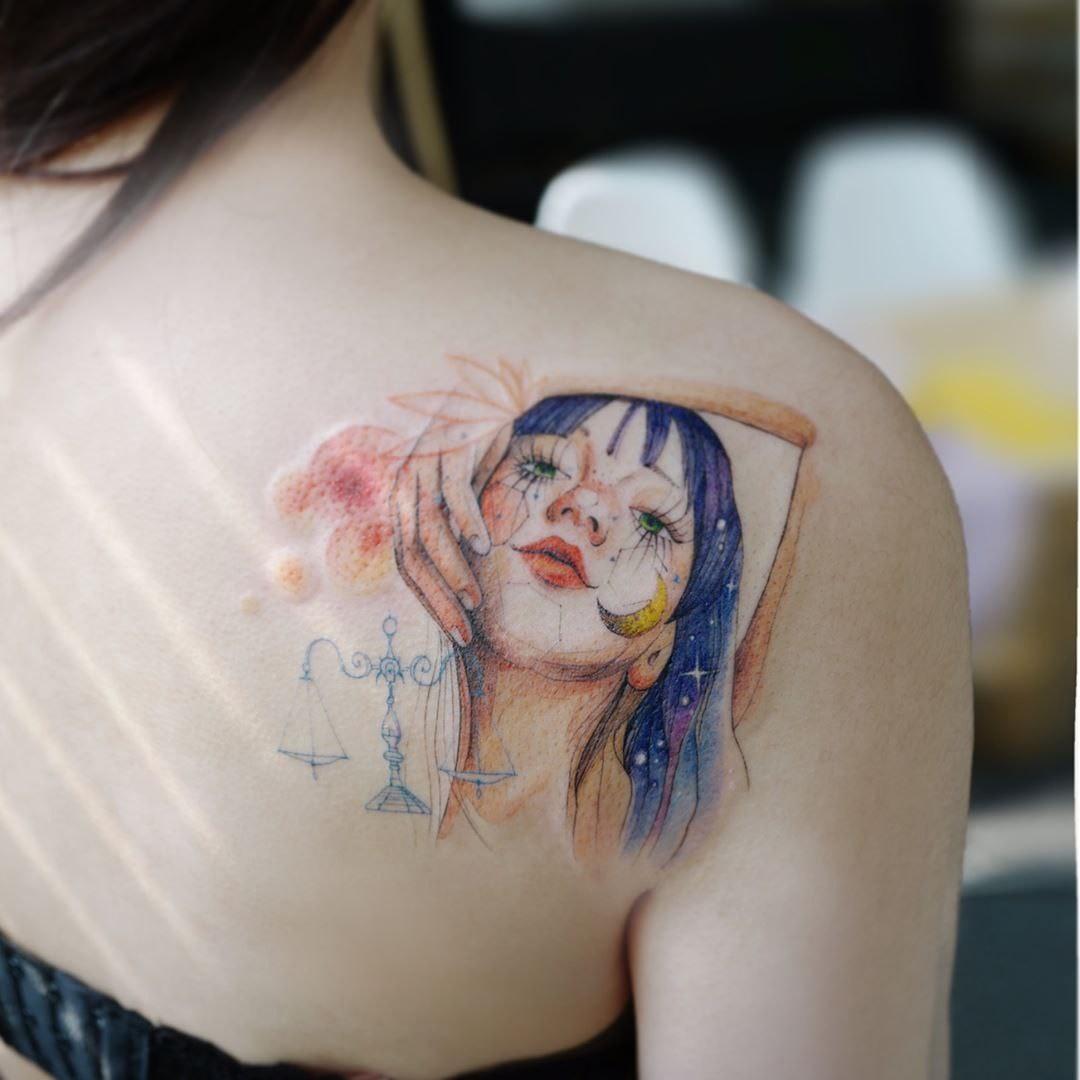 Tattoo Aquarell 7 Korean Tattoo Artists In Seoul Who Trended On Instagram With