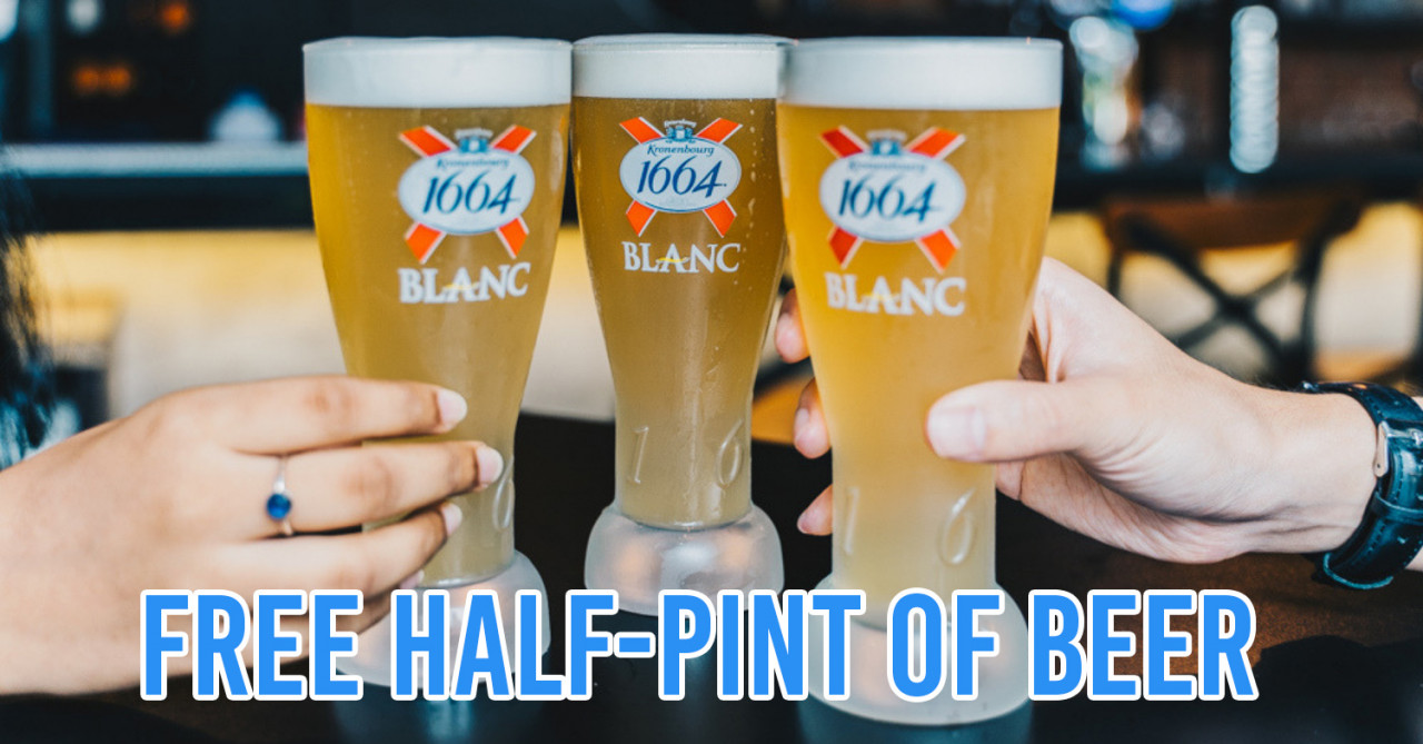 Blanc Promo Kronenbourg 1664 Blanc Now Has Pints On The House At Over 70 Bars