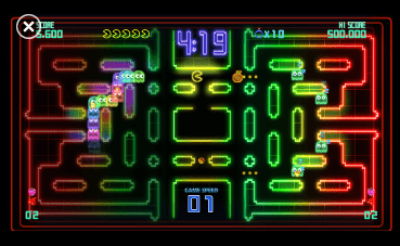 pacman1 Pac Man: Championship Edition DX Windows Phone 7 Review screenshot