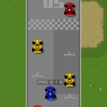 Retro Racing iPhone Screenshot 1