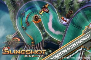 Slingshot Racing iPhone Screenshot 1 300x200 Slingshot Racing iPhone Review screenshot