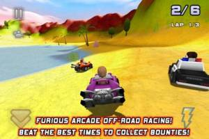 Bounty Racer iPad screenshot 1 300x200 Bounty Racer iPad Review screenshot