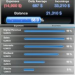 Budget Balance iPhone Screenshot 1