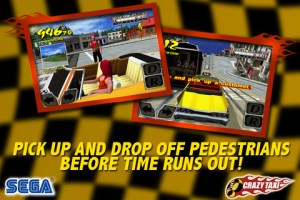 Crazy Taxi iPhone Screenshot 1 300x200 Crazy Taxi iPhone Review screenshot