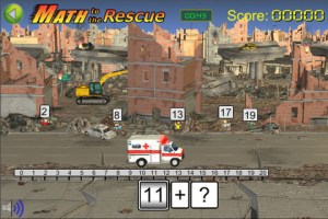 Math to the Rescue iPhone Screenshot 1 300x200 Math to the Rescue iPhone Review screenshot