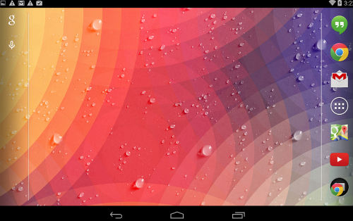 Screenshot 2014 10 01 at 10 Weatherback Weather Wallpaper Android Review screenshot