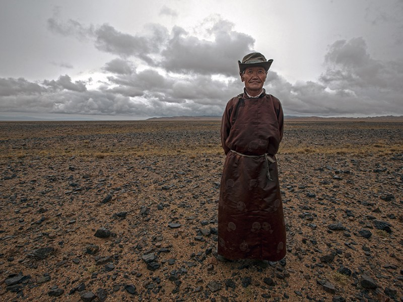 Mongolian Gobi nomad