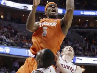 The Syracuse Orange pose a threat to Michigan in their matchup.